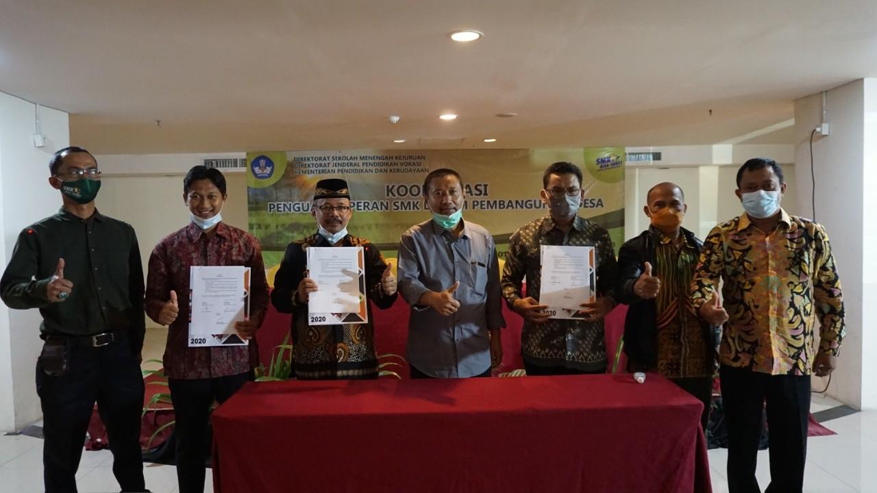 Direktorat SMK Gelar Koordinasi SMK dalam Pembangunan Pedesaan